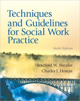 Techniques and Guidelines for Social Work Practice with MySocialWorkLab and Pearson eText