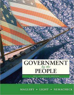 Government by the People, 2011 Alternate Edition with MyPoliSciLab and Pearson eText