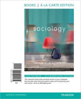 Sociology, Books a la Carte Edition