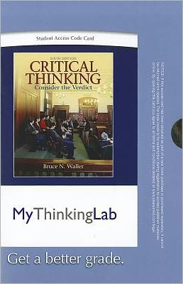 MyThinkingLab -- Standalone Access Card -- for Critical Thinking: Consider the Verdict