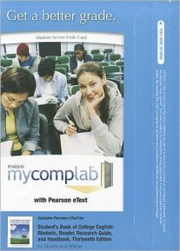 MyCompLab with Pearson eText -- Standalone Access Card -- for Student's Book of College English