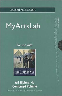 NEW MyArtsLab Student Access Code Card for Art History, Combined Volume (standalone)