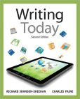 Book Cover Image. Title: Writing Today, Author: Richard Johnson-Sheehan