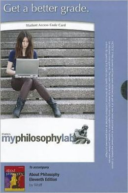 MyPhilosophyLab -- Standalone Access Card -- for About Philosophy