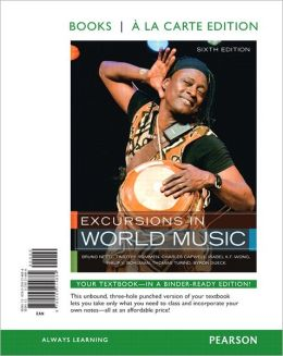 Excursions in World Music, Books a la Carte Edition