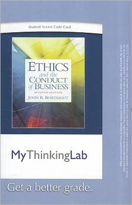MyThinkingLab -- Standalone Access Card -- for Ethics and the Conduct of Business