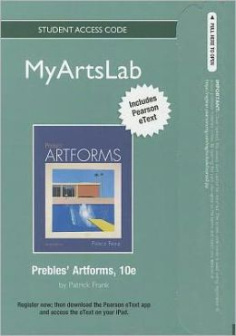 NEW MyArtsLab with Pearson eText -- Standalone Access Card -- for Prebles' Artforms