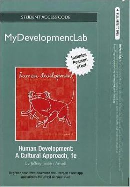 NEW MyDevelopmentLab with Pearson eText -- Standalone Access Card -- for Human Development: A Cultural Approach
