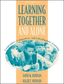Learning Together and Alone: Cooperative, Competitive, and Individualistic Learning