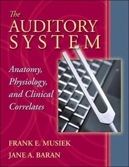 The Auditory System: Anatomy, Physiology, and Clinical Correlates