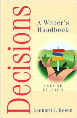 Decisions: A Writer's Handbook
