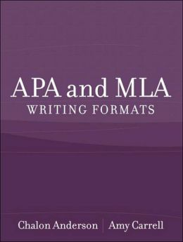 APA and MLA Writing Formats
