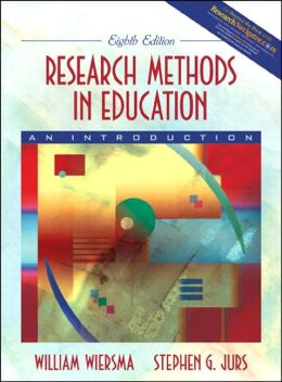 Research Methods in Education : An Introduction - With CD