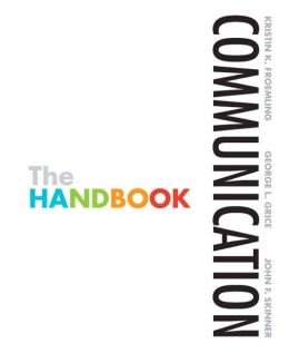 Communication: The Handbook