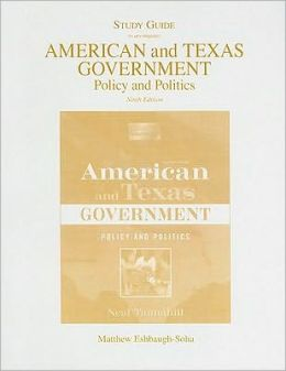 American andTexas Government Study Gde