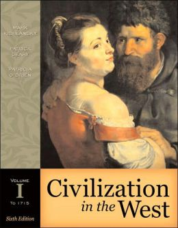 Civilization in the West Volume I to 1715 [With Study Card]