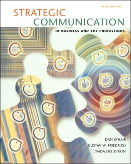 Strategic Communication in Business and Profession
