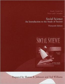 Study Guide for Social Science: An Introduction to the Study of Society