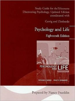 Telecourse Study Guide for Psychology and Life (all editions)