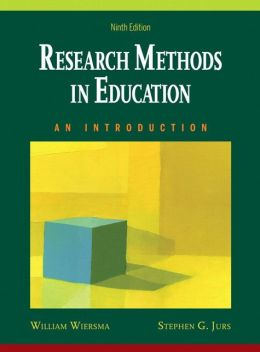 Research Methods in Education: An Introduction [With CDROM]