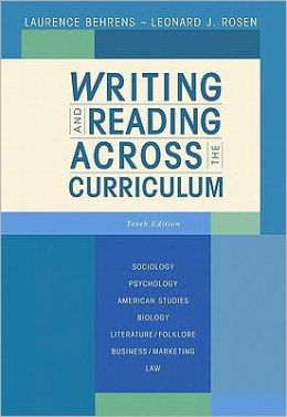Writing and Reading Across the Curriculum Value Package (Includes What Every Student Should Know about Avoiding Plagiarism)