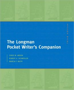Longman Pocket Writer's Companion