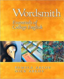Wordsmith: Essentials of College English Value Pack (Includes Prentice Hall Grammar Workbook & Mywritinglab Student Access )