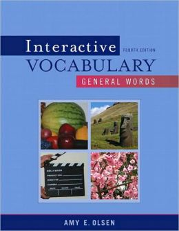 Interactive Vocabulary: General Words