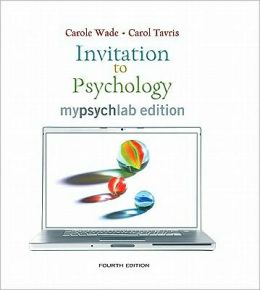 Invitation to Psychology, MyLab Edition Value Pack (includes Live!Psych Experiments and Simulations & Study for Introduction to Psychology)