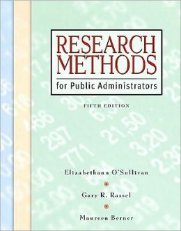 Research Methods for Public Administration-With CD-Package