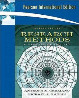 Research Methods: A Process of Inquiry. Anthony M. Graziano, Michael L. Raulin