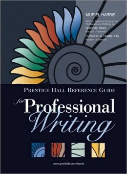 Prentice Hall Reference Guide for Professional Writing (with MyCompLab NEW with E-Book Student Access Code Card)