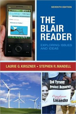 The Blair Reader: Exploring Issues and Ideas