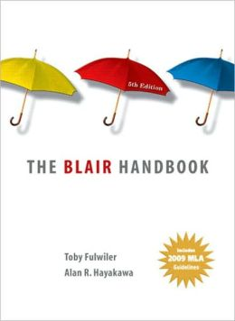 Blair Handbook: 2009 MLA Update Editon