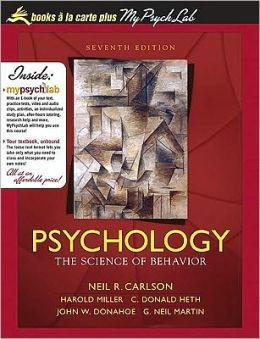 Psychology : Science of Behavior (Loose)