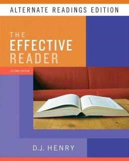 Effective Reader, The, Alternate Reading Edition (with MyReadingLab Student Access Code Card)