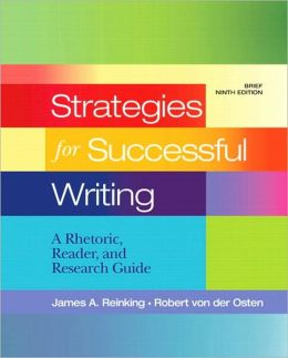 Strategies for Successful Writing: A Rhetoric, Research
