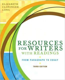 Resources for Writers with Readings (with MyWritingLab with Pearson eText Student Access Code Card)