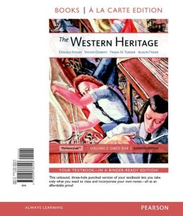 The Western Heritage, Volume 2, Books a la Carte Edition