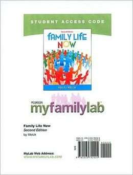 MyFamilyLab Student Access Code Card for Family Life Now (standalone)