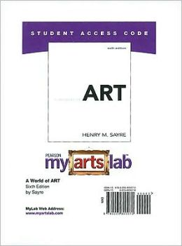 A World of Art - MyArtsLab Student Access Code Card