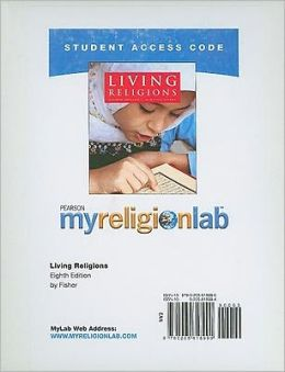 MyReligionLab Student Access Code Card for Living Religions (standalone)