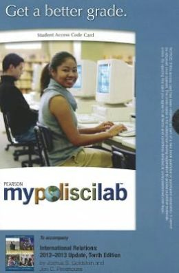 MyPoliSciLab -- Standalone Access Card -- for International Relations: 2012-2013 Update