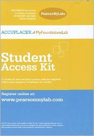 MyFoundationsLab CourseCompass -- Access Card -- for ACCUPLACER