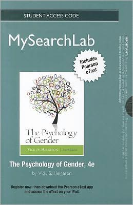 MySearchLab with Pearson eText -- Standalone Access Card -- for Psychology of Gender