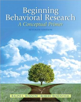 Beginning Behavioral Research: A Conceptual Primer Plus MySearchLab with eText
