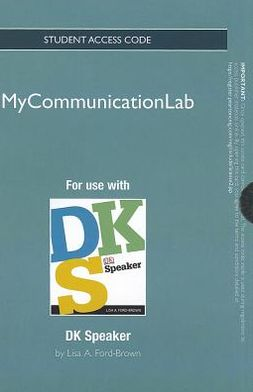NEW MyCommunicationLab -- Standalone Access Card -- for DK Speaker