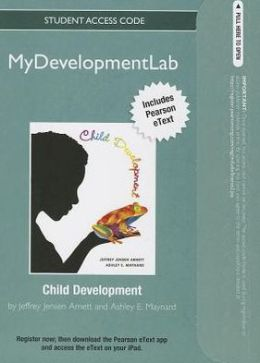NEW MyDevelopmentLab with Pearson eText -- Standalone Access Card -- for Child Development: A Cultural Approach