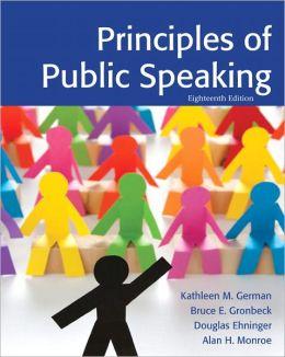 Principles of Public Speaking, 18/e