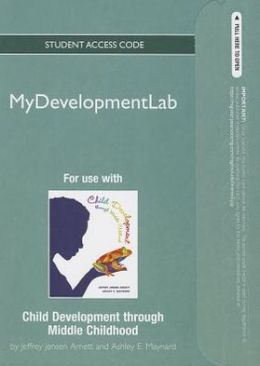 NEW MyDevelopmentLab -- Standalone Access Card -- Child Development through Middle Childhood: A Cultural Approach